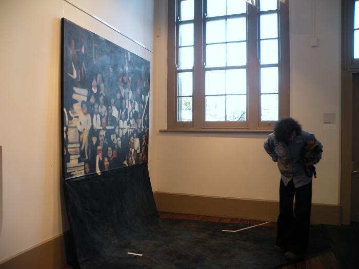 Ida Lawrence. Mind Your Step, installation. 2009 edit