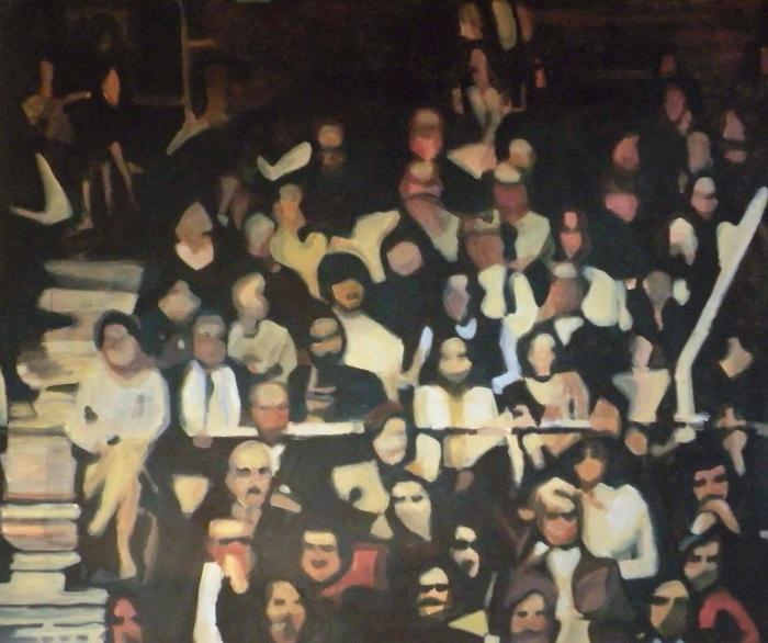 Ida Lawrence. Mind Your Step, installation, detail 2009 edit