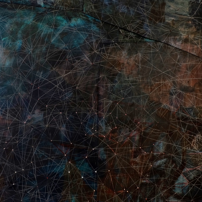 Ida Lawrence, Tangled Constellations, 2014-2015 (detail)