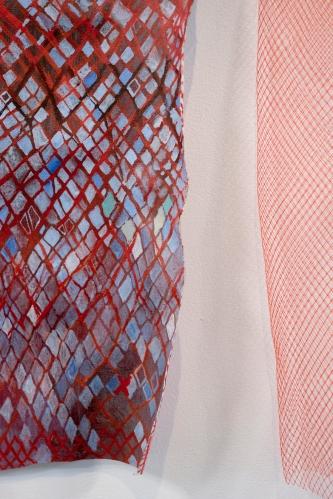 Ida Lawrence - Pale Imitation Cadmium Red Diagonals close upDSCF3512 edit