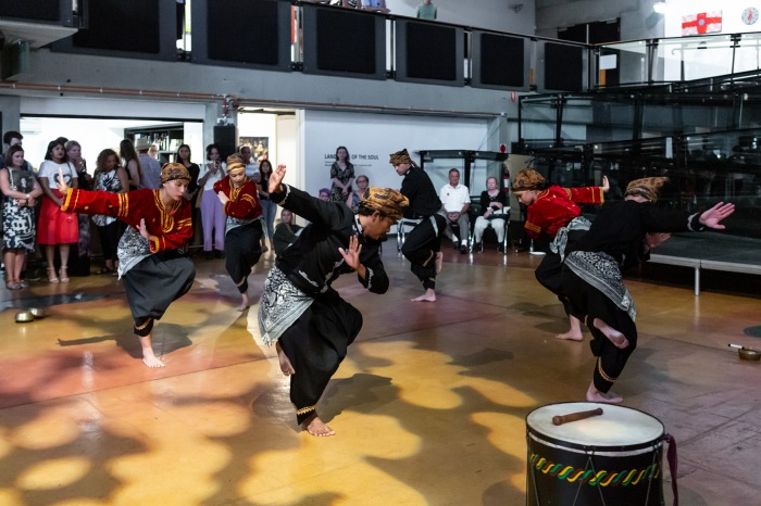 Suara Indonesia Dance, looking here looking north launch 2019. Image care of Casula Powerhouse Arts Centre. Photography by Chantel Bann