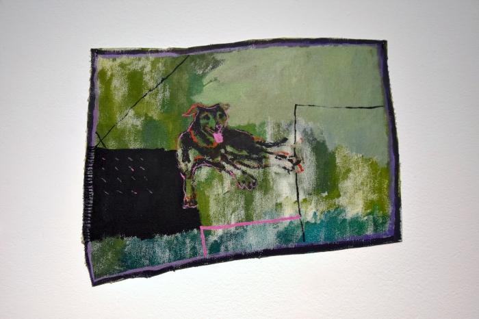 Ida Lawrence,Wesley2018 acrylic on unstretched canvas, 33x42cm. Nolan Murphy.JPG