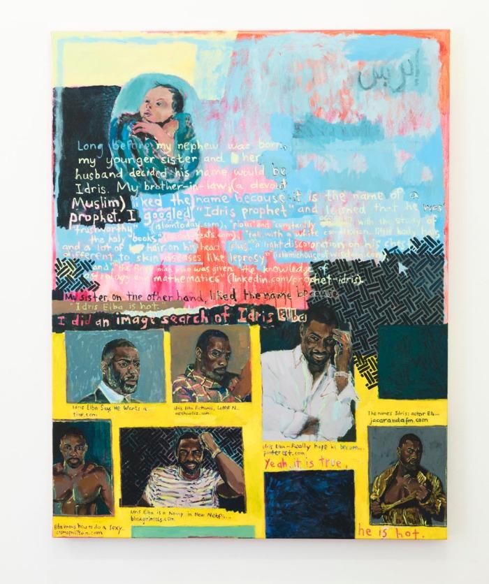 Ida Lawrence, Idris, 2018, acrylic on canvas, 138 x 108 cm. Image- Silversalt.jpg